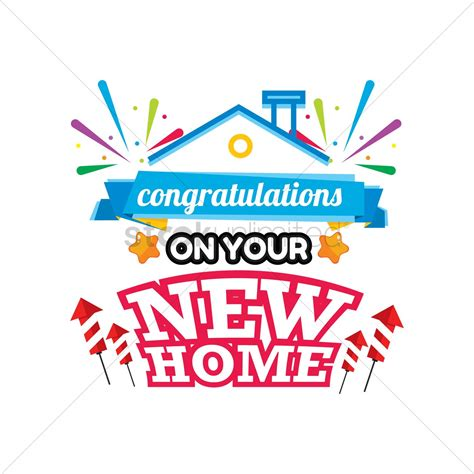 congratulations on your new home clip cliparts