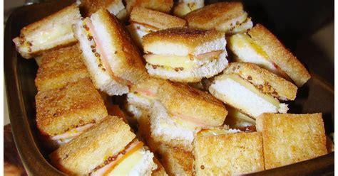 recette mini croque apero croque monsieur