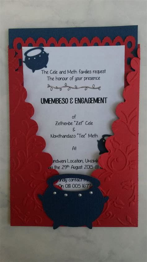 Zulu Wedding Invitation Card by 58 Best Images About Creative Flair Invitations Wedding