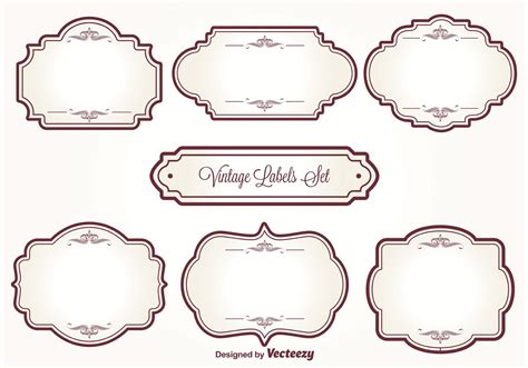vintage label template blank vintage label templates pictures to pin on