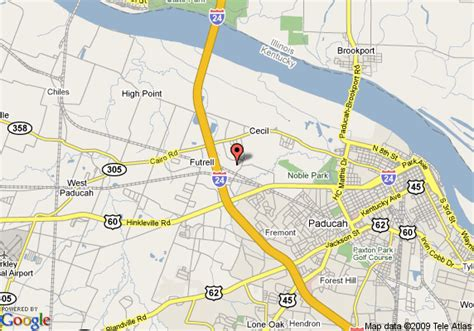 kentucky map paducah map of candlewood suites paducah paducah