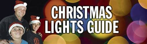 christmas lights guide the border mail