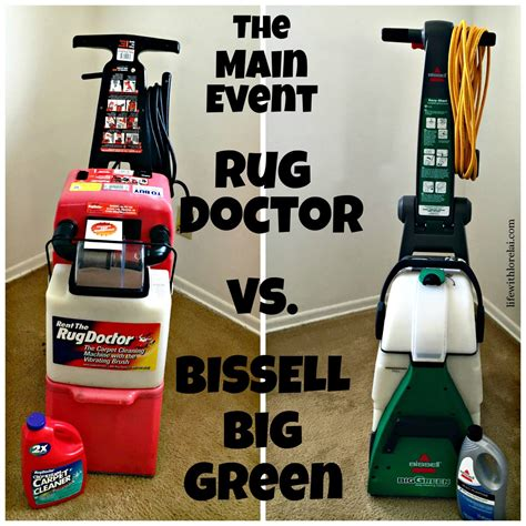 Rug Doctor Vs Professional rug doctor mighty pro x3 vs bissell big green