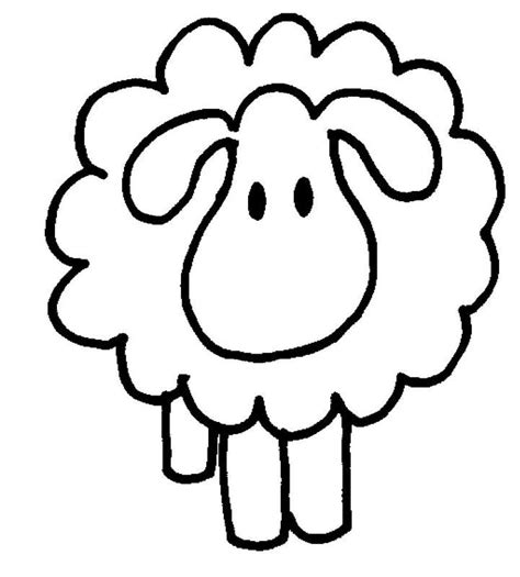 lamb coloring pages preschool sheep and lamb coloring pages clipart best clipart