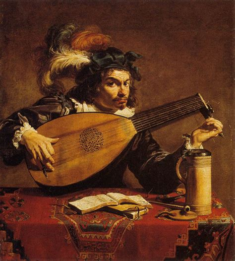 show de painting the lute player by rombouts theodor