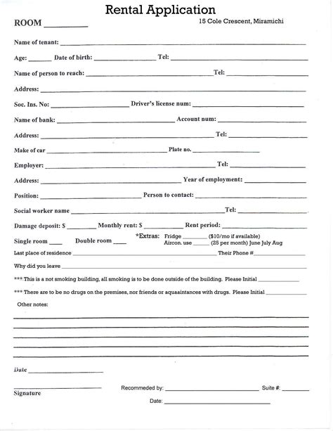 free printable lease agreement for renting a room best photos of printable room rental agreement free
