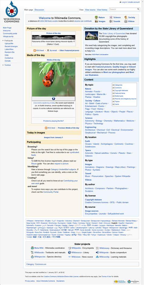 layout web wikipedia web page wikipedia