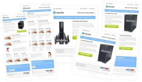 email ad templates social media 30 plantillas responsive para el e mail