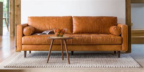 leather sofas  buy   luxe brown black