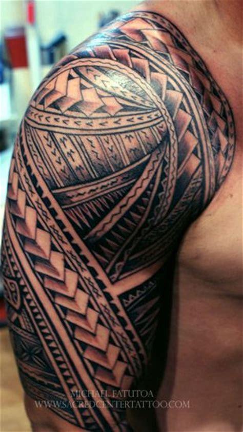 vanuatu tribal tattoos armors and sleeve on