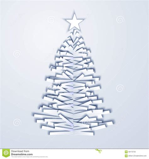 How Many Pieces Of Paper Does A Tree Make - vector tree stock vector image 59175755