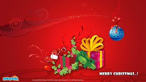 merry christmas gifts desktop wallpapers  kids mocomi