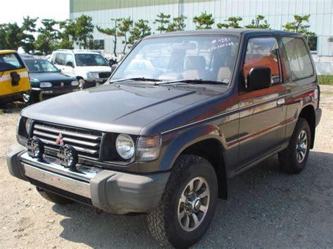 used mitsubishi pajero pajero 2 5 4x4 4wd manual cars mitsubishi pajero 2 5 diesel turbo 4wd 1991 used for sale