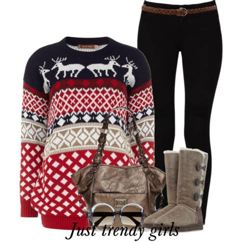 christmas casual wear just trendy girls