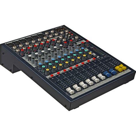 console audio soundcraft epm 6 6 mono 2 stereo audio console