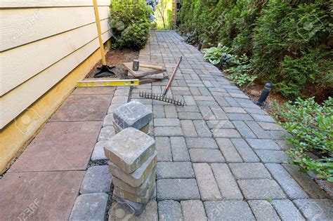 installing paver patio steps easy steps to install landscaping pavers bistrodre porch