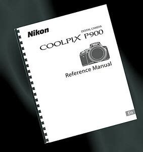 printed nikon coolpix p900 digital user guide manual a4 ebay