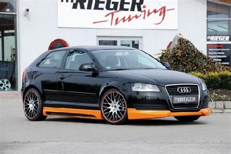 Audi Tuningteile by Tuningteile Rieger Frontlippe Audi A3 8p