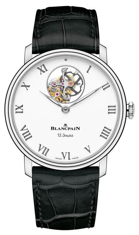 Loiste Ii Self Winding Cog With Moon Phase by Blancpain Collection Baselworld 2014 In The Tourbillon Of