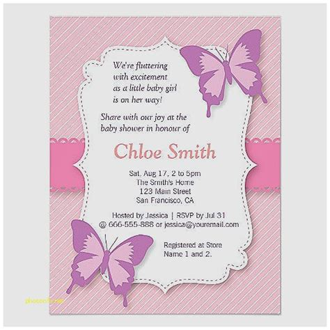 printable invitations paper baby shower invitation lovely free printable butterfly