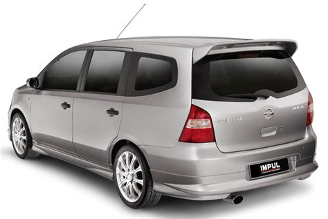 Nissan Grand Livina by New Impul Grand Livina Now Available In Nissan Showrooms