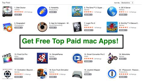 best osx software free top 10 paid mac app from apple store for os