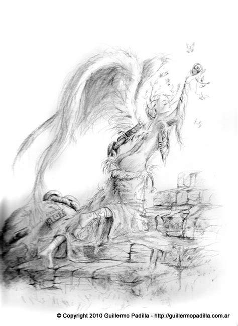 imagenes a lapiz de angeles 193 ngeles dibujos a l 225 piz y pintura guillermo gonzalo