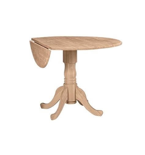 42 Inch Drop Leaf Pedestal Table by 42 Inch Dropleaf Pedestal Dining Table Wood N Things