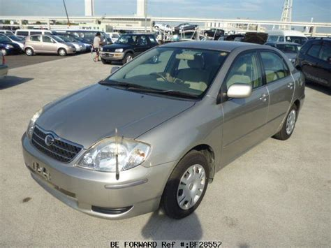 Toyota Corolla Vvti Beforward Used Corolla Sedan Toyota For Sale Bf28557 Japanese