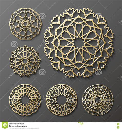 islamic ornamentation pattern islamic ornament vector persian motiff 3d ramadan