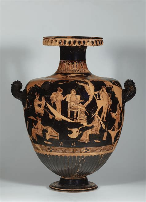 Vases Museum by Getty Villa Exhibition Of Apulian Vases Explores Funerary