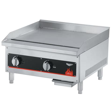 Countertop Griddles by Vollrath 40722 Cayenne 24 Quot Flat Top Gas Countertop Griddle