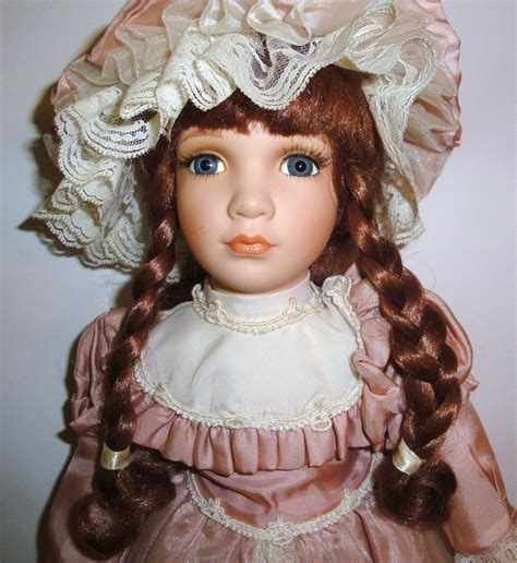 porcelain doll vintage porcelain doll 18 william tung tuss inc