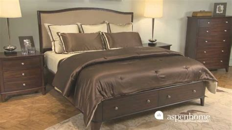 modern loft king bedroom set by aspen home furniture