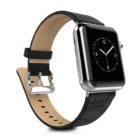 Hoco Bamboo Texture Leather Band For Apple Series 1 2 3 Hoco Bamboo Texture Leather Band For Apple 42mm Series 1 2 3 Black Jakartanotebook
