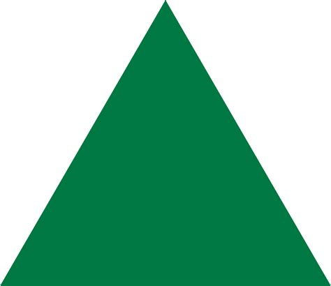 Tempat Tisu Triangle Green Pink file green equilateral triangle point up svg
