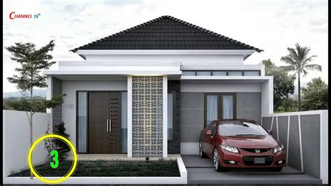 desain gapura sederhana gambar desain rumah sederhana modern feed news indonesia