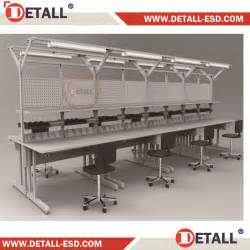 assembly benches assembly modular work bench with the whole design detall