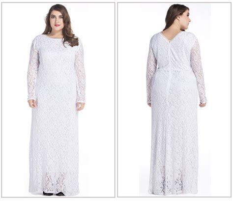 Dress Wanita Maxi Dress Muslim 1 wholesale abaya dress maxi size 7xl jibabas white muslim lace abaya with free