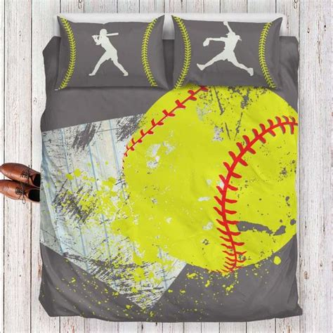 softball bedding herzoge softball bedding set pink series