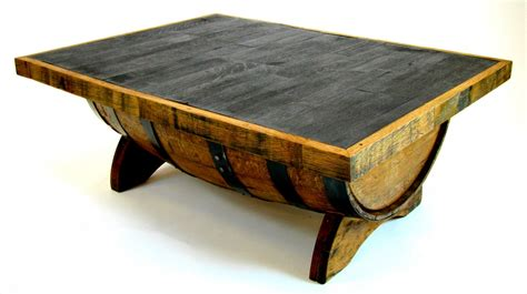 whiskey barrel tables whiskey barrel coffee table by hungarian workshop