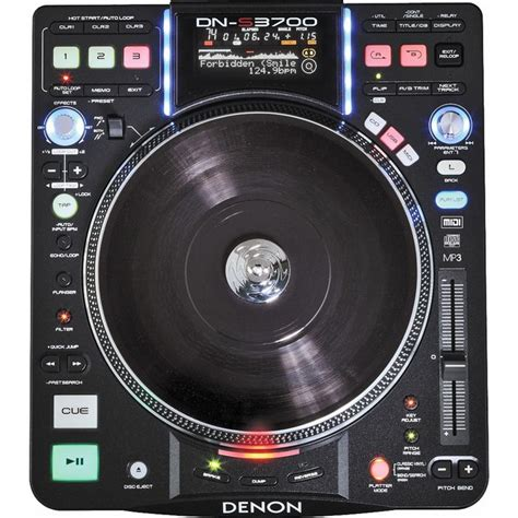 Alat Dj Denon Jual Denon Dn S3700 Digital Turntable Media Player And