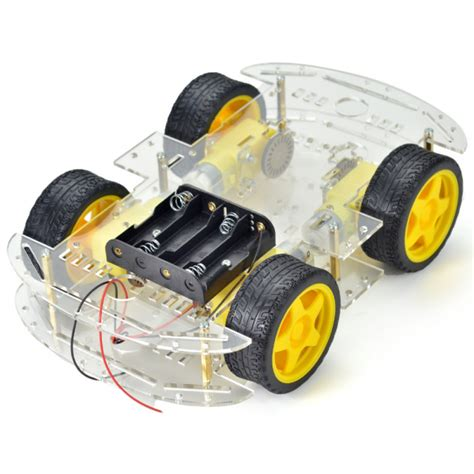 4 wheel robot smart car chassis kits car for arduino car