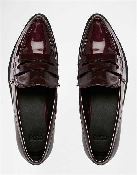 pointed loafer asos asos pointed loafers at asos
