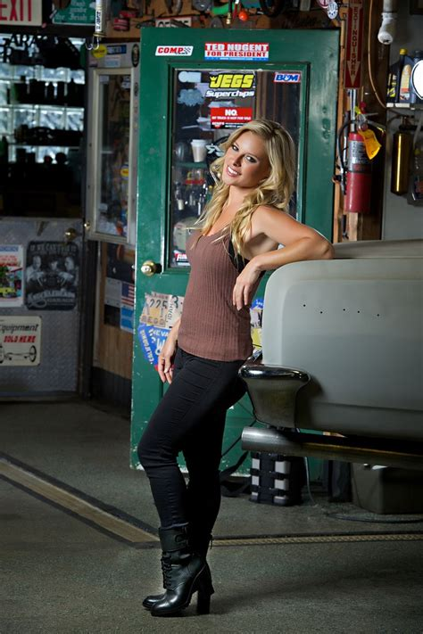 hot chick barrett jackson cristy lee from the velocity channel all girls garage