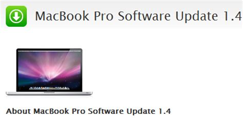 how to update macbook pro software 2011 macbook pro firmware 1 4 released w stability