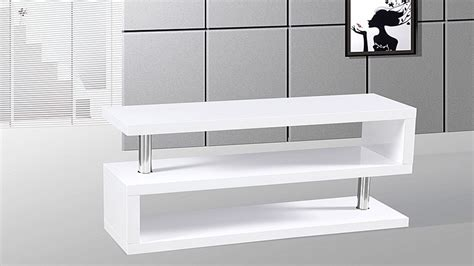 Tv Stand unit in White High Gloss   Homegenies 2017