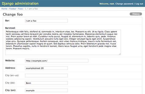 django creating a model internationalization and localization of django models