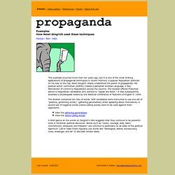Propaganda Essay Topics by Essay On Doublespeak By William Lutz
