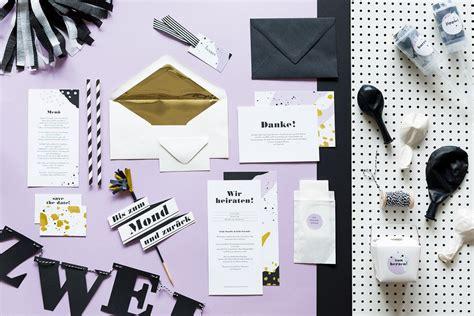 Hochzeitseinladungen Set by Studio Colada Hochzeitseinladungen Papeterie Und